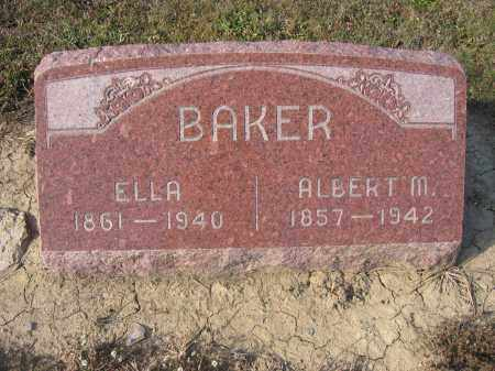 BAKER, ALBERT M. - Union County, Ohio | ALBERT M. BAKER - Ohio Gravestone Photos