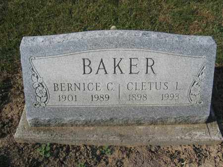 BAKER, BERNICE C. - Union County, Ohio | BERNICE C. BAKER - Ohio Gravestone Photos