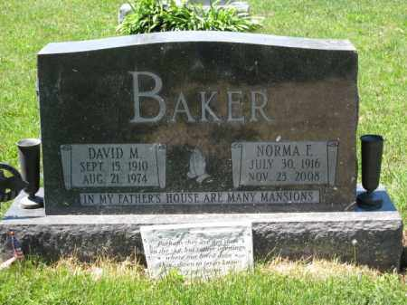 BAKER, DAVID M. - Union County, Ohio | DAVID M. BAKER - Ohio Gravestone Photos