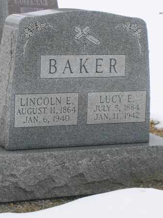 BAKER, LINCOLN E. - Union County, Ohio | LINCOLN E. BAKER - Ohio Gravestone Photos