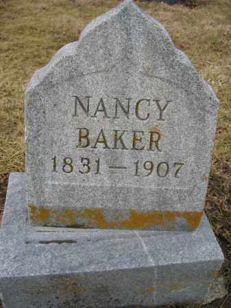 BAKER, NANCY - Union County, Ohio | NANCY BAKER - Ohio Gravestone Photos