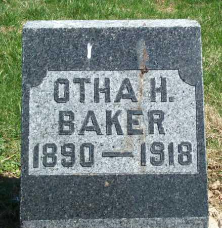 BAKER, OTHA H. - Union County, Ohio | OTHA H. BAKER - Ohio Gravestone Photos