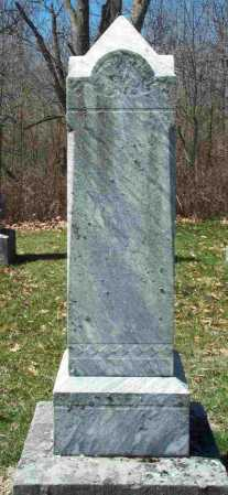 BAKER, ZEBEDEE - Union County, Ohio | ZEBEDEE BAKER - Ohio Gravestone Photos