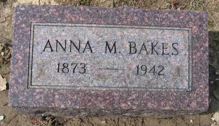 BAKES, ANNA M. - Union County, Ohio | ANNA M. BAKES - Ohio Gravestone Photos