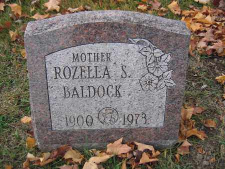 BALDOCK, ROZELLA S. - Union County, Ohio | ROZELLA S. BALDOCK - Ohio Gravestone Photos