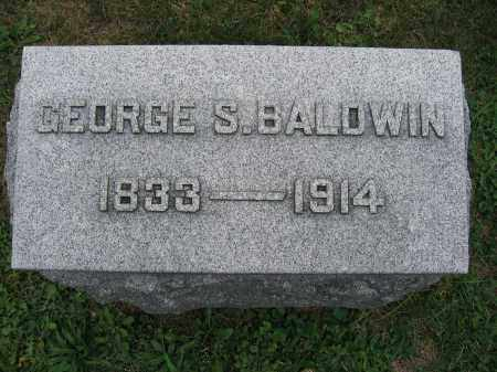 BALDWIN, GEORGE S. - Union County, Ohio | GEORGE S. BALDWIN - Ohio Gravestone Photos