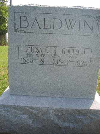 BALDWIN, LOUISA O. - Union County, Ohio | LOUISA O. BALDWIN - Ohio Gravestone Photos
