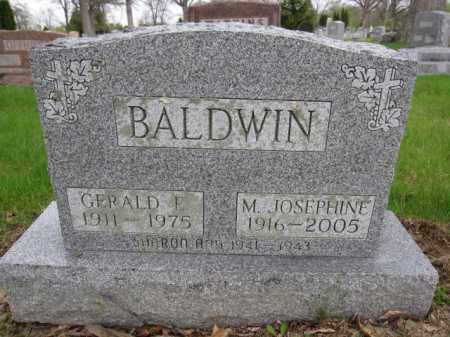 BALDWIN, GERALD E. - Union County, Ohio | GERALD E. BALDWIN - Ohio Gravestone Photos