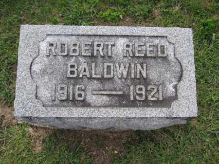 BALDWIN, ROBERT REED - Union County, Ohio | ROBERT REED BALDWIN - Ohio Gravestone Photos