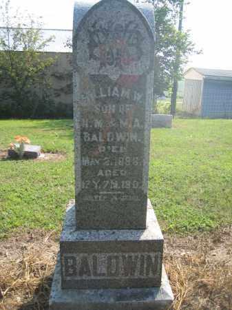 BALDWIN, WILLIAM W. - Union County, Ohio | WILLIAM W. BALDWIN - Ohio Gravestone Photos