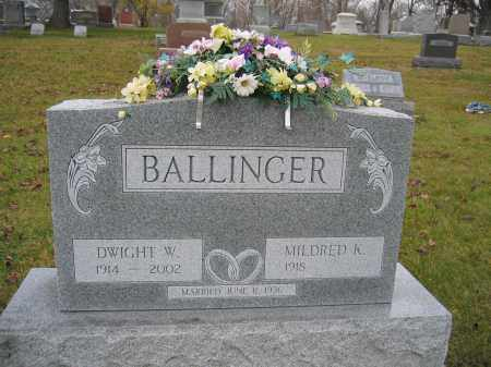 BALLINGER, DWIGHT W. - Union County, Ohio | DWIGHT W. BALLINGER - Ohio Gravestone Photos
