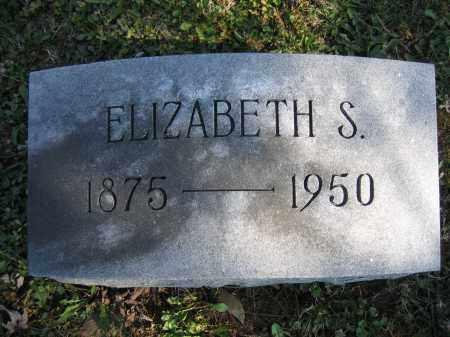 BALLINGER, ELIZABETH S - Union County, Ohio | ELIZABETH S BALLINGER - Ohio Gravestone Photos