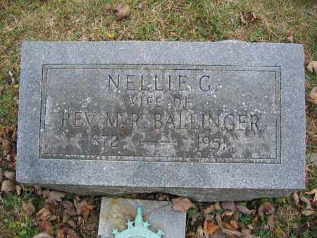 BALLINGER, NELLIE G. - Union County, Ohio | NELLIE G. BALLINGER - Ohio Gravestone Photos
