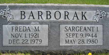 BARBORAK, FREDA M. - Union County, Ohio | FREDA M. BARBORAK - Ohio Gravestone Photos