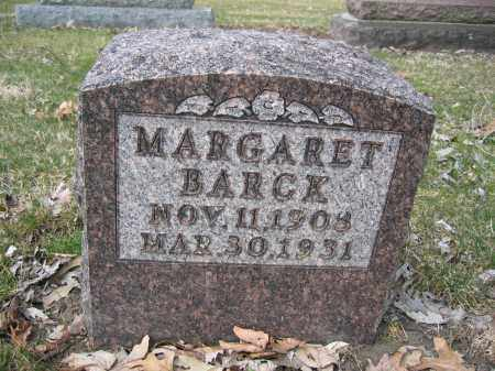 BARCK, MARGARET - Union County, Ohio | MARGARET BARCK - Ohio Gravestone Photos