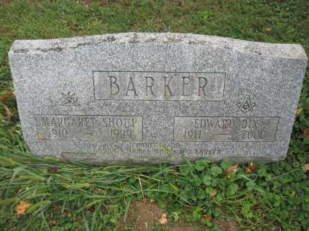 BARKER, MARGARET SHOUP - Union County, Ohio | MARGARET SHOUP BARKER - Ohio Gravestone Photos