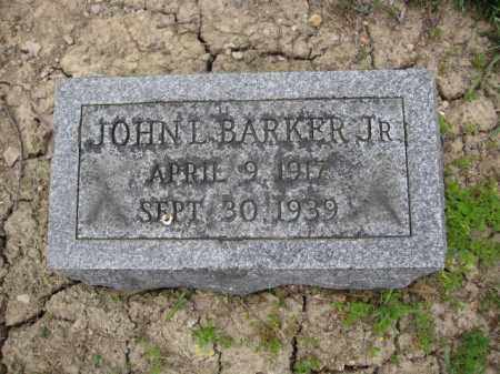 BARKER, JOHN L. - Union County, Ohio | JOHN L. BARKER - Ohio Gravestone Photos