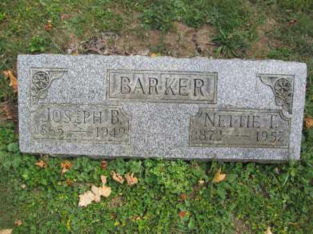 BARKER, NETTIE T. - Union County, Ohio | NETTIE T. BARKER - Ohio Gravestone Photos