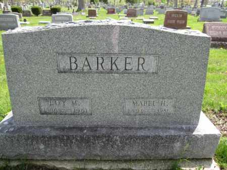 BARKER, LOY M. - Union County, Ohio | LOY M. BARKER - Ohio Gravestone Photos