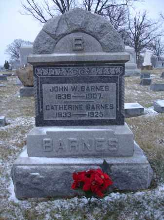 BARNES, CATHERINE - Union County, Ohio | CATHERINE BARNES - Ohio Gravestone Photos