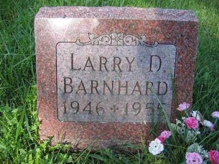BARNHARD, LARRY D. - Union County, Ohio | LARRY D. BARNHARD - Ohio Gravestone Photos