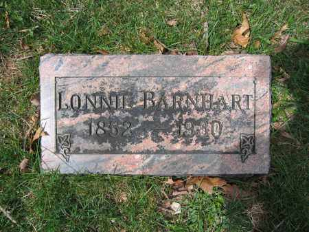 BARNHART, LONNIE - Union County, Ohio | LONNIE BARNHART - Ohio Gravestone Photos