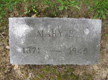 BARR, MARY F. - Union County, Ohio | MARY F. BARR - Ohio Gravestone Photos