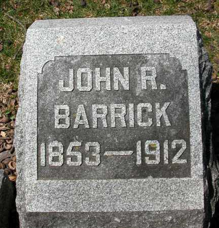 BARRICK, JOHN R. - Union County, Ohio | JOHN R. BARRICK - Ohio Gravestone Photos