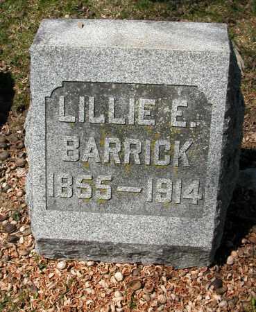 BARRICK, LILLIE E. - Union County, Ohio   LILLIE E. BARRICK - Ohio Gravestone Photos