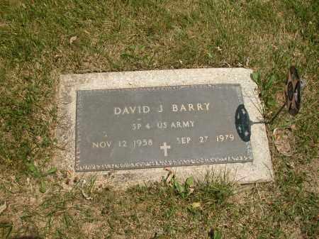 BARRY, DAVID J. - Union County, Ohio | DAVID J. BARRY - Ohio Gravestone Photos