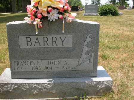 BARRY, JOHN A. - Union County, Ohio | JOHN A. BARRY - Ohio Gravestone Photos