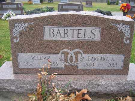 BARTELS, WILLIAM - Union County, Ohio | WILLIAM BARTELS - Ohio Gravestone Photos