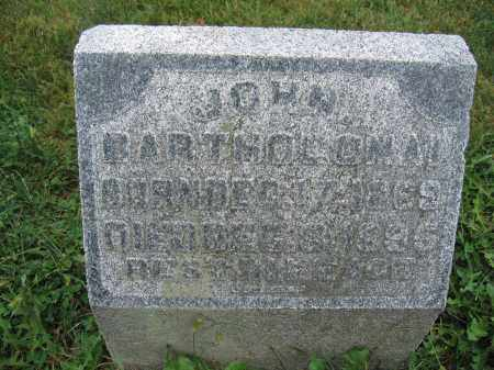 BARTHOLOMAI, JOHN - Union County, Ohio | JOHN BARTHOLOMAI - Ohio Gravestone Photos