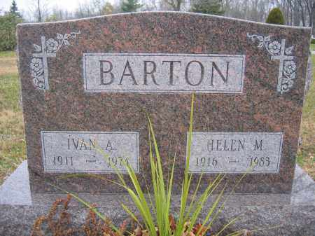 BARTON, IVAN A. - Union County, Ohio | IVAN A. BARTON - Ohio Gravestone Photos