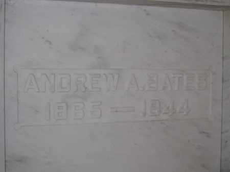 BATES, ANDREW A. - Union County, Ohio | ANDREW A. BATES - Ohio Gravestone Photos