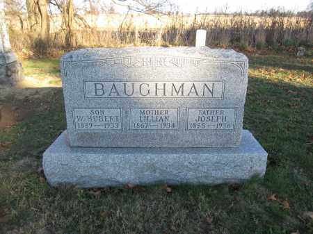 BAUGHMAN, W. HUBERT - Union County, Ohio | W. HUBERT BAUGHMAN - Ohio Gravestone Photos