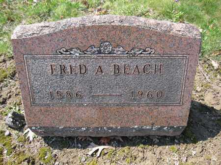 BEACH, FRED A. - Union County, Ohio | FRED A. BEACH - Ohio Gravestone Photos