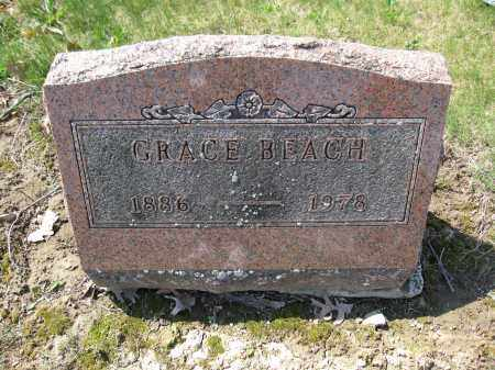 BEACH, GRACE - Union County, Ohio | GRACE BEACH - Ohio Gravestone Photos