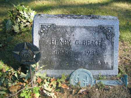 BEACH, HENRY G. - Union County, Ohio | HENRY G. BEACH - Ohio Gravestone Photos