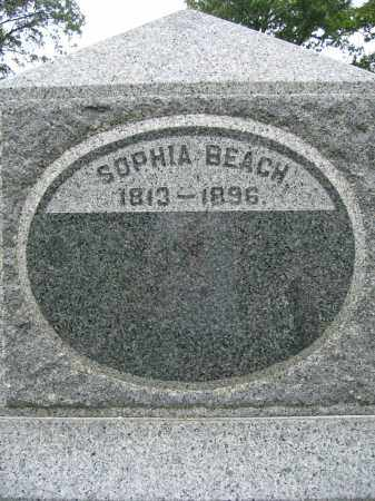 BEACH, SOPHIA - Union County, Ohio | SOPHIA BEACH - Ohio Gravestone Photos