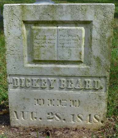 BEARD, DICKEY - Union County, Ohio | DICKEY BEARD - Ohio Gravestone Photos