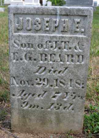BEARD, JOSEPH E - Union County, Ohio | JOSEPH E BEARD - Ohio Gravestone Photos