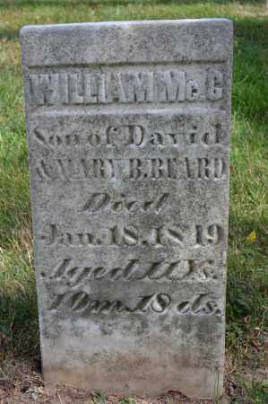 BEARD, WILLIAM MCC - Union County, Ohio | WILLIAM MCC BEARD - Ohio Gravestone Photos