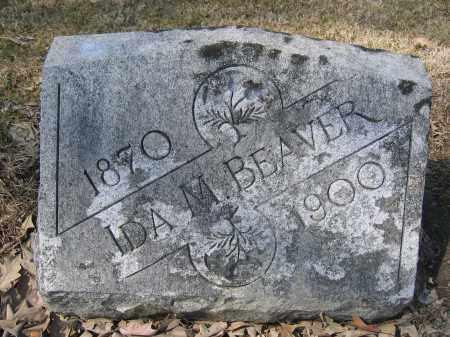 BEAVER, IDA M. - Union County, Ohio   IDA M. BEAVER - Ohio Gravestone Photos
