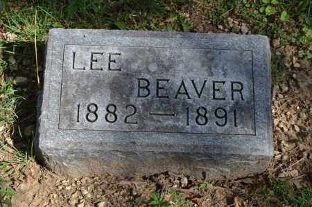BEAVER, LEE - Union County, Ohio | LEE BEAVER - Ohio Gravestone Photos