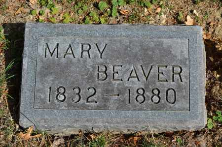 BEAVER, MARY - Union County, Ohio | MARY BEAVER - Ohio Gravestone Photos
