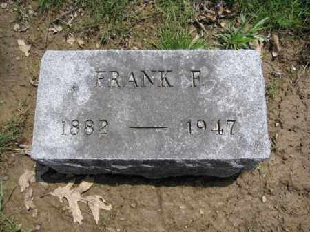 BECK, FRANK F. - Union County, Ohio | FRANK F. BECK - Ohio Gravestone Photos