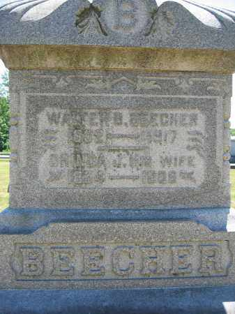 BEECHER, WALTER B. - Union County, Ohio | WALTER B. BEECHER - Ohio Gravestone Photos
