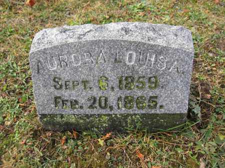 BEEM, AURORA LOUISA - Union County, Ohio | AURORA LOUISA BEEM - Ohio Gravestone Photos