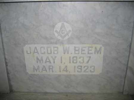 BEEM, JACOB W. - Union County, Ohio | JACOB W. BEEM - Ohio Gravestone Photos
